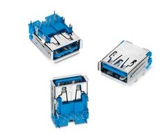 Typ-A-Buchse mit Power Delivery: WR-COM USB 3.1 Superspeed+ (Bildquelle: Würth Elektronik eiSos)
