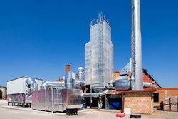 Investition in den Umweltschutz: Das Ziegelwerk Klosterbeuren hat jetzt seine Rauchgasreinigungsanlage erneuert. Foto: Ziegelwerk Klosterbeuren