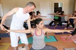 Während der Ausbildung zum Sampoorna Yogalehrer