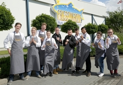 Endspurt für die Castingshow mit Hering: Das waren die Finalisten der Matjesmeisterschaft 2015.