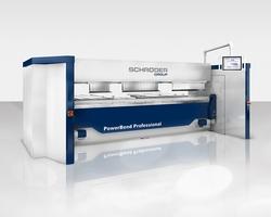 Schwenkbiegemaschine PowerBend Professional (Bildquelle: Schröder Group)