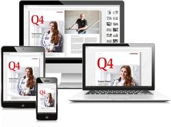 Das Q4-Magazin steht auch digital als Download für PCs und alle mobilen Endgeräte zur Verfügung. Foto: quick-mix