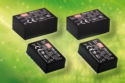 Bei der Emtron electronic GmbH sind jetzt auch die kompakten AC/DC-Netzteile von Mean Well IRM-01/02 erhältlich.