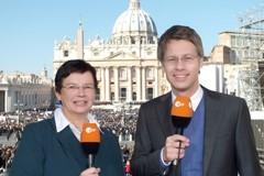 Michaela Pilters, Andreas KlinnerCopyright: ZDF/Rainer Jänsch
