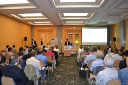 """Das Hilton München City war der adäquate Veranstaltungsort für das """"Wireless Power Tradeshow and Seminar. (Bildquelle: Würth Elektronik eiSos)"""
