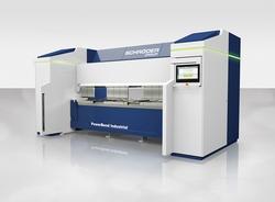 Auf der EuroBLECH 2016 präsentiert die Schröder Group mit der PowerBend Industrial eine neue Schwenkbiegemaschine. (Bildquelle: Schröder Group)