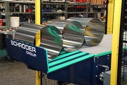 Der Füllstand der Ablage wird automatisch kontrolliert, um Stau und Kollision der Rohre zu verhindern. (Bildquelle: Schröder Group)