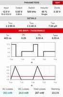 Simulationssoftware REDEXPERT: AC-Verlustberechnung im Discontinous Conduction Mode. Bildquelle: Würth Elektronik eiSos