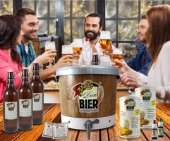 Biergenuß mit selbstgebrautem Craft-Bier, die trendige Geschenkidee.