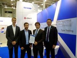 Zertifikatsübergabe von TÜV NORD an Siemens Wind Power