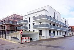 Die ersten Familien wohnen bereits auf dem ehemaligen AWG-Areal in Giengen, der zwei Bauabschnitt soll im Sommer 2017 fertig gestellt sein. Foto: Kreisbau