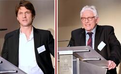 (Dipl.-Ing. Bernd Sacher und Dipl.-Ing. Dr. Rainer Jaspers – Kooperationspartner von Anfang an)