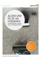 Anmeldung gestartet: Jetzt an der Seminarreihe zu Algen und Pilzen an der Fassade teilnehmen. Quelle: quick-mix Gruppe GmbH & Co. KG