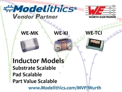 Durch die Kooperation von Würth Elektronik eiSos und Modelithics sind nun für drei Produktfamilien von SMT-Hochfrequenzinduktivitäten Microwave Global Models verfügbar.(Bild: Würth Elektronik eiSos)
