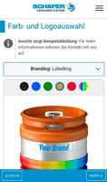 KEG App Screenshot (c) SCHÄFER WERKE GMBH