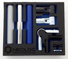 NeoLog zeigt Shadowboards von OSAAP – Inbegriff eines ergonomischen, aufgeräumten und sauberen Arbeitsplatzes im Geiste von Kaizen.(Bildquelle: NeoLog)