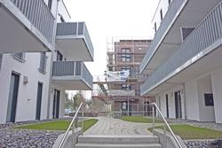 Viel vor hat die Kreisbaugesellschaft Heidenheim 2017 im Wohngebiet Wohnen an der Brenz in Giengen. Foto: Kreisbaugesellschaft Heidenheim