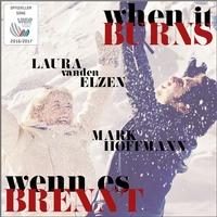 Heizt ordentlich ein: Der offizielle Song der Vierschanzentournee Wenn es brennt von Laura van den Elzen und Mark Hoffmann. Foto: OK Vierschanzentournee
