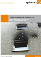 Broschüre Algen und Pilze an der Fassade. Quelle: quick-mix Gruppe GmbH & Co. KG