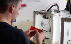 (c) Das c.lab der Hochschule München: Ein Ort zum Arbeiten nach Maker-Manier (Foto: Lea Knobloch)