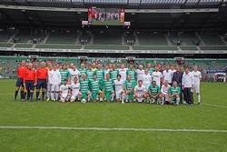 Werder-Legenden und das ALLSTAR Team