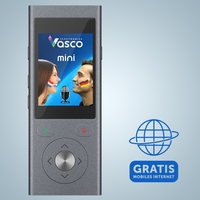 Erster Sprachübersetzer mit gratis Mobil-Verbindung: Vasco Translator Mini 2
